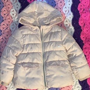Old Navy Toddlers girls puffer coat